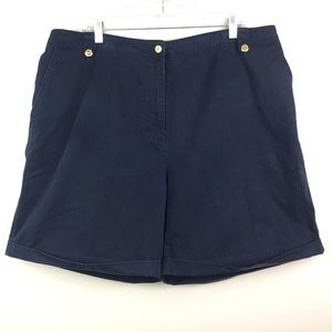 Lauren Ralph Lauren | Navy Shorts Plus Bermuda 18W